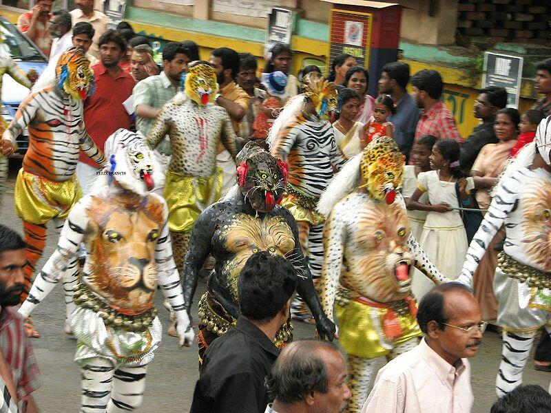 Pulikkali festival –Kerala